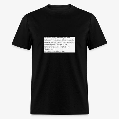 Love Song - Men's T-Shirt