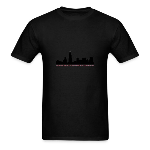 City Box Logo - Men's T-Shirt