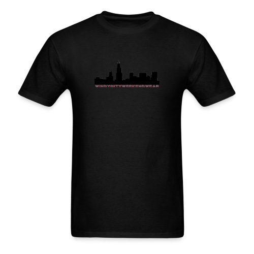 City Box Logo - Men's T-Shirt