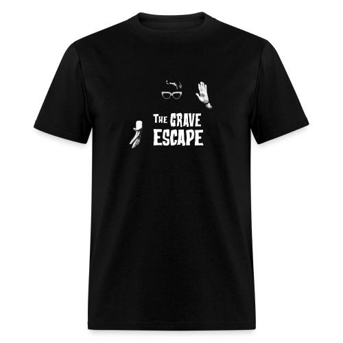 The Grave Escape Ash - Men's T-Shirt