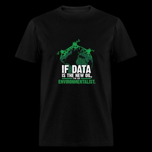 Data Environmentalist - Men's T-Shirt