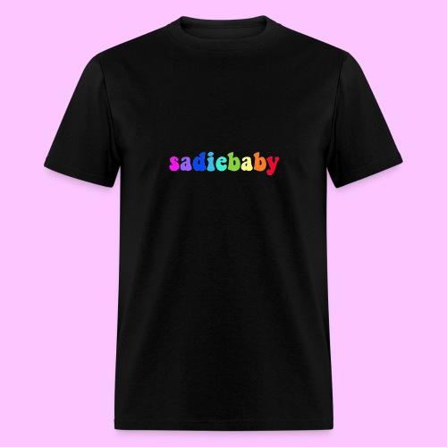 rainbow sadiebaby - Men's T-Shirt