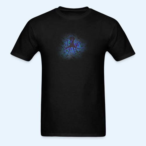 Octopus darklight - Men's T-Shirt