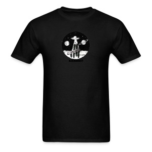 Space logo design - Men's T-Shirt