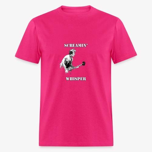 Screamin' Whisper Filth Design - Men's T-Shirt
