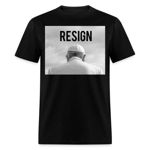 Resign - Men's T-Shirt