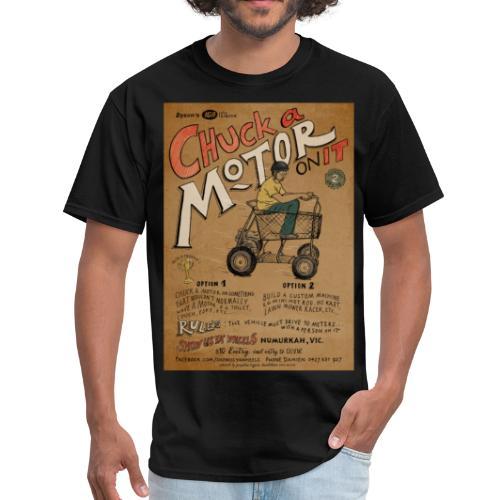 Chuck a Motor On It - Men's T-Shirt