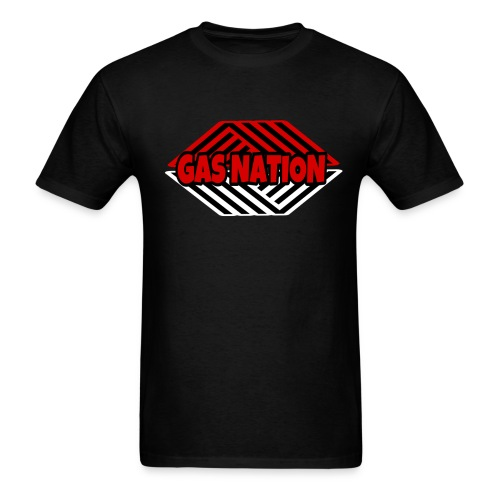 Gas nation logo - Men's T-Shirt