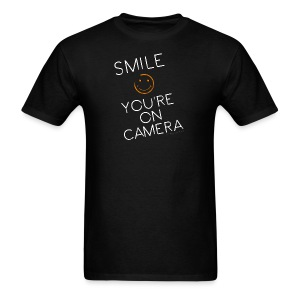 Smiley Cam Alert - Men's T-Shirt