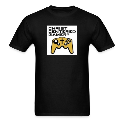 Christian Centered Gamer - Men's T-Shirt