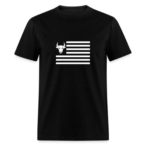 PivotBoss Flag White - Men's T-Shirt