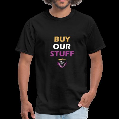 Buy Our Stuff Puissant Royale Logo - Men's T-Shirt