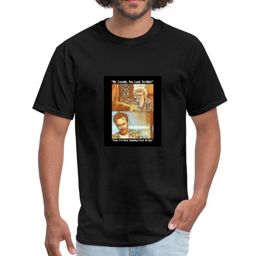 Smoking Crack All Day - Men's T-Shirt