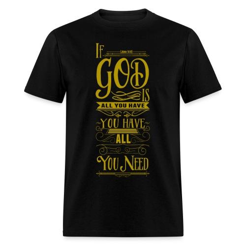 God is all - Men's T-Shirt