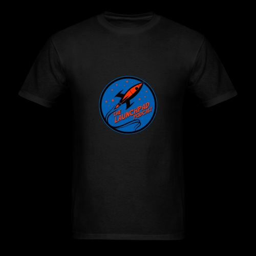 Launchpad Podcast Logo - Men's T-Shirt