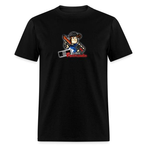 8-Bit Vintendo Logo 1 - Men's T-Shirt