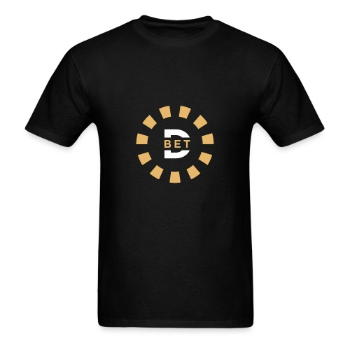 Decent Bet Icon - Men's T-Shirt