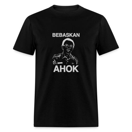 Bebaskan Ahok Black - Men's T-Shirt