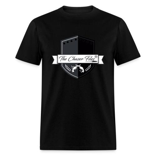 The Chaser Files Logo - Men's T-Shirt