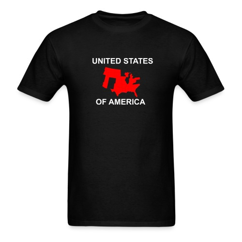 United States Fly Over Country - Men's T-Shirt