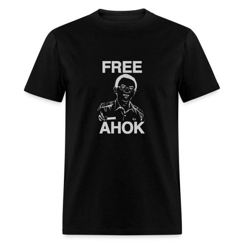 Free Ahok Black - Men's T-Shirt