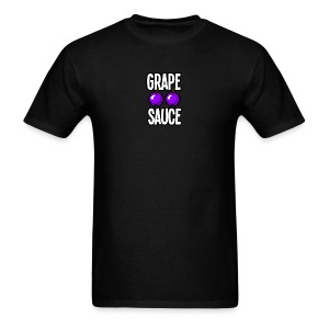 Grape Apple Sauce Double Apple Logo - Men's T-Shirt
