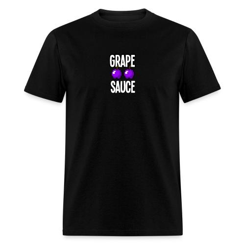 Grape Apple Sauce Double Apple Logo - Men's T-Shirt