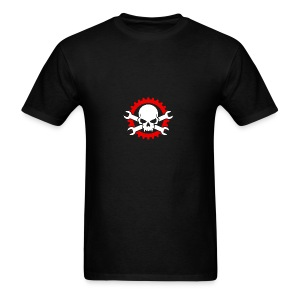 Gearhead Skull and Crossed Wrenches - Men's T-Shirt