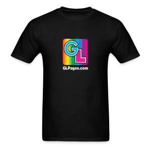 GL Pages Logo - Men's T-Shirt