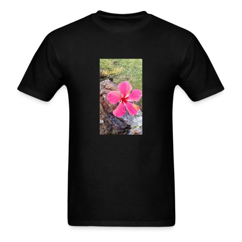 Pink Beach Flower - Men's T-Shirt