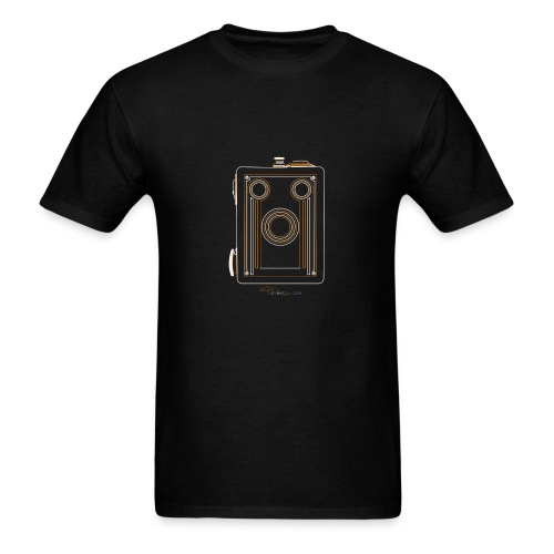 Camera Sketches - Brownie Target 16 - Men's T-Shirt