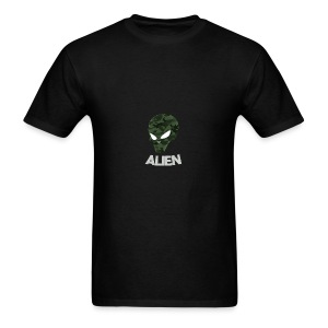 Military Alien - Men's T-Shirt