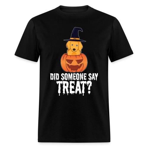 Golden Retriever Halloween Costume Funny Dog Shirt - Men's T-Shirt