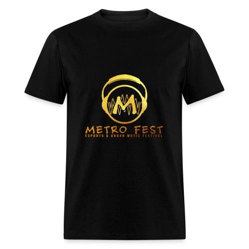 metrofest gold - Men's T-Shirt