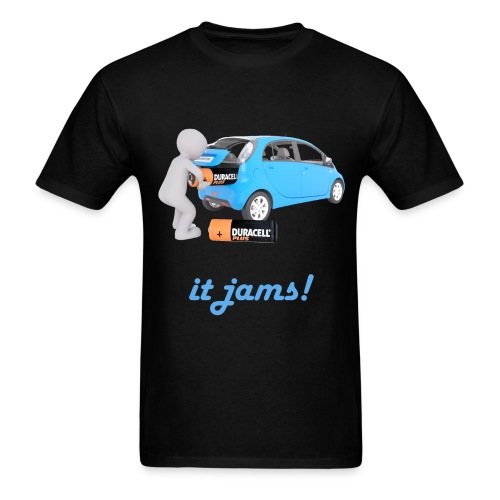 Limited Edition! E-car   Technic Style - Men's T-Shirt