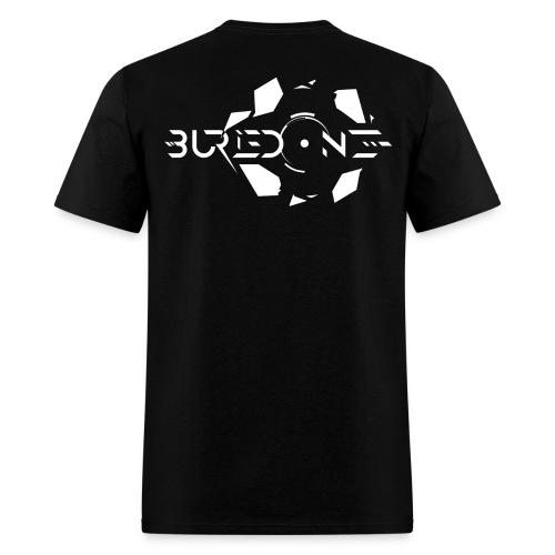 BuriedONE Cryptomining Logo White - Men's T-Shirt