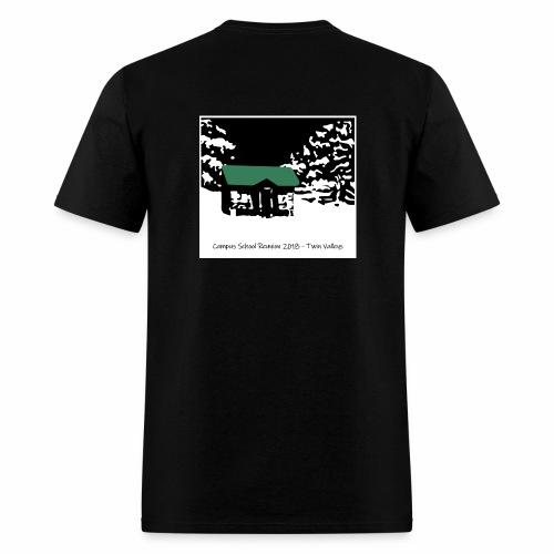 Twin Valleys Cabin - Men's T-Shirt