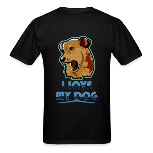 new T-shirt dog - Men's T-Shirt