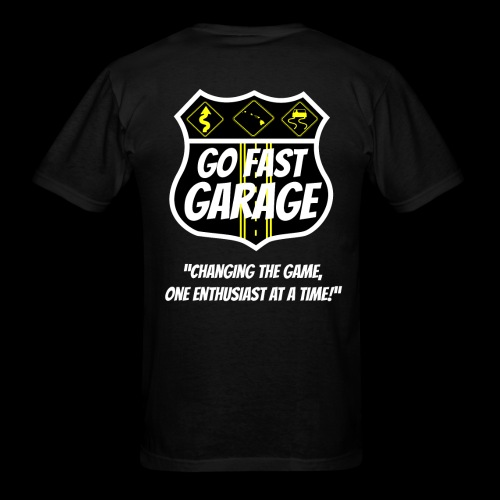 Go Fast Garage - Men's T-Shirt