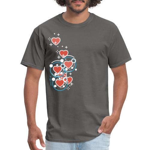 SuperHearts - Men's T-Shirt