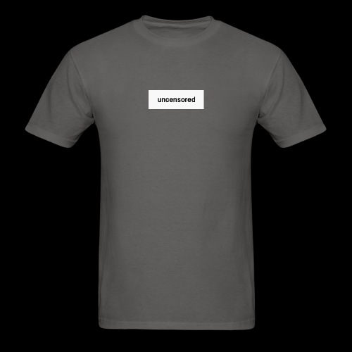 uncensored brand - Men's T-Shirt
