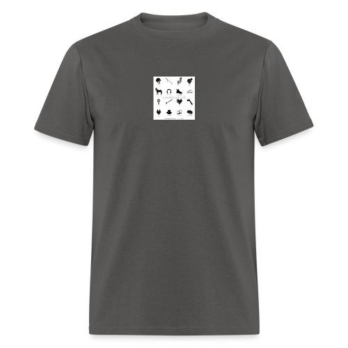 horse tack shirt - Men's T-Shirt