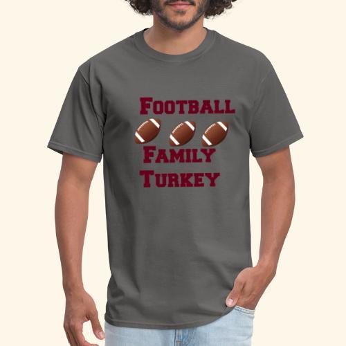 FOOTBALL FAMILY TURKEY TEE - Men's T-Shirt