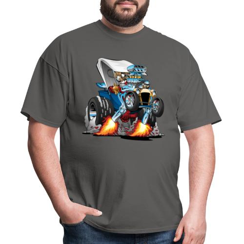 Custom T-bucket Roadster Hotrod Cartoon - Men's T-Shirt