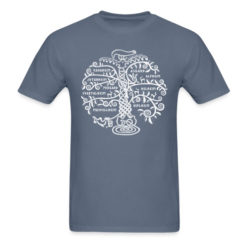 Yggdrasil - The World Tree - Men's T-Shirt