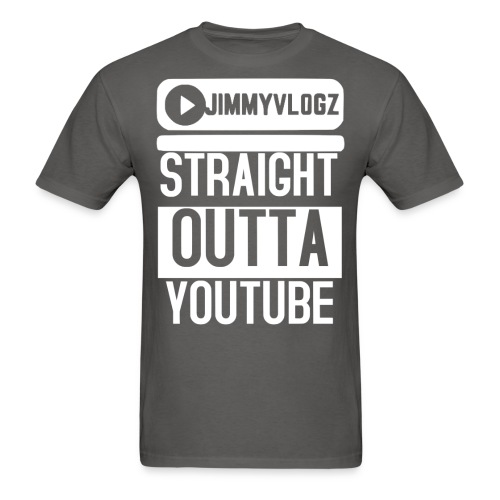 Straight Outta YouTube Merch! - Men's T-Shirt