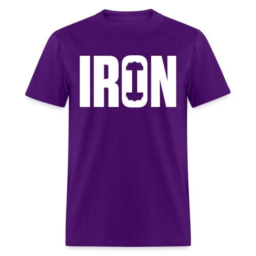 IRON WEIGHTS - Men's T-Shirt