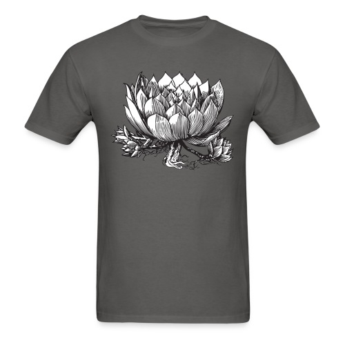 Vintage Artichoke Illustration - Men's T-Shirt