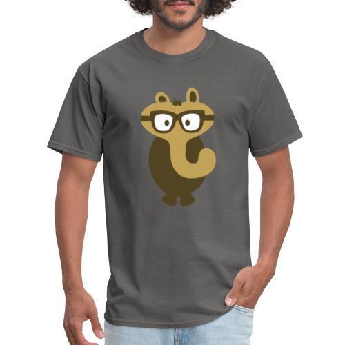 Funny Elephant Monster Wearing Glasses - Men's T-Shirt