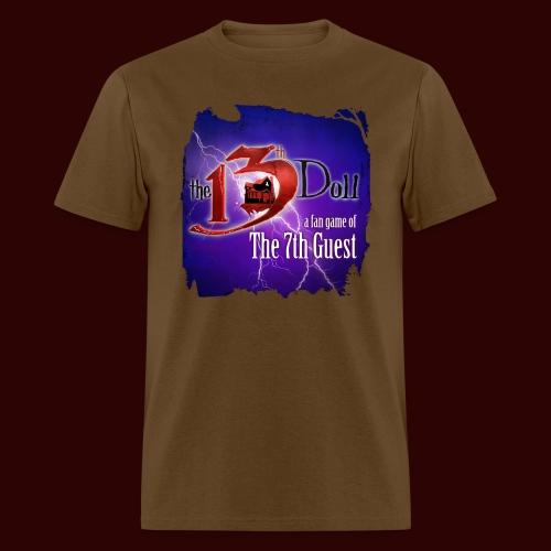 The 13th Doll Logo With Lightning - Men's T-Shirt